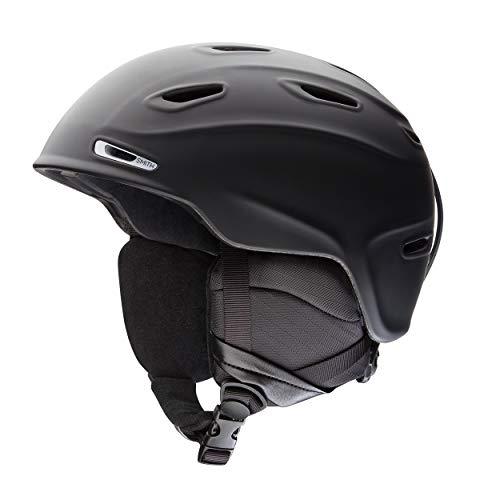 SMITH Herren Helm Aspect Skihelm, Schwarz Matt, 55-59 von Smith