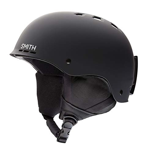 SMITH Herren Helm Holt Skihelm, Schwarz matt, 51-55 von Smith