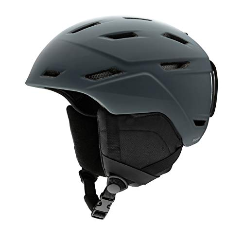 Smith Erwachsene Mission Helm, Matte Charcoal, M/55-59 von Smith