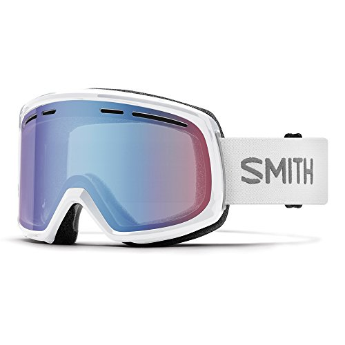 Smith Herren Range Goggles, White/Blue Sensor Mirror, One Size von Smith