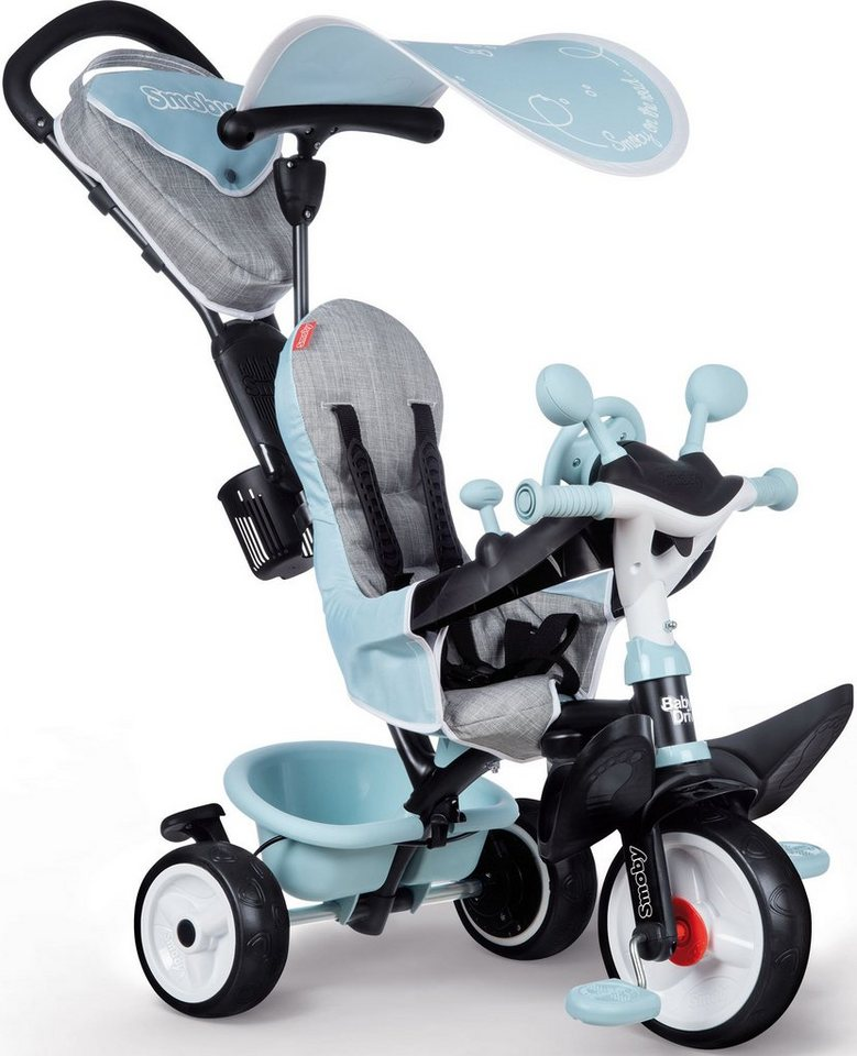 Smoby Dreirad »Baby Driver Plus, blau«, Made in Europe von Smoby