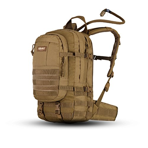 Source Assault Trinkrucksack, Coyote, 20 L + 3 L von Source