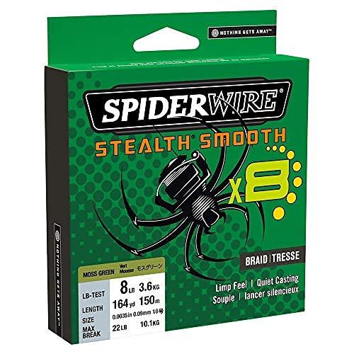 Spiderwire dura-4 FLECHTLEINE 300m lichtdurchl/ässig 33lb//15 kg 0.17MM