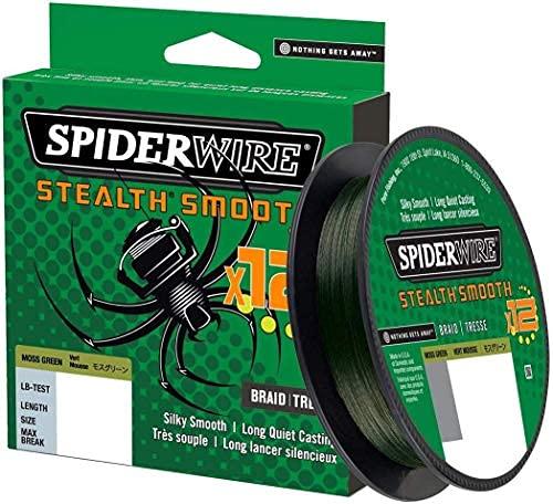 150m 46,3kg Spiderwire Stealth Smooth 8 New 2020 Abriebfest 5,4kg 0,06mm 0,39mm 8-Fach geflochtene Schnur mit Mikrobeschichtung Yellow