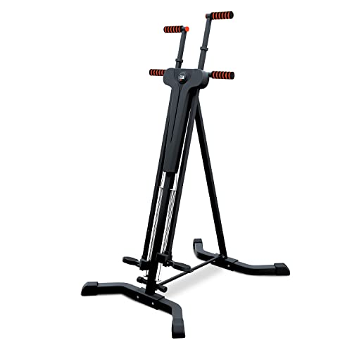 Sportstech innovativer 2in1 Stepper & Vertical Climber Fitness - Klettern - Kletterbewegungen, klappbar, multifunktional VC300 mit Anti-Rutsch Design & Faltsystem-ideal für HIIT & Ganzkörpertraining von Sportstech