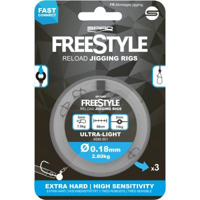Spro Freestyle Reload Jig Rig 0.18Mm von Spro
