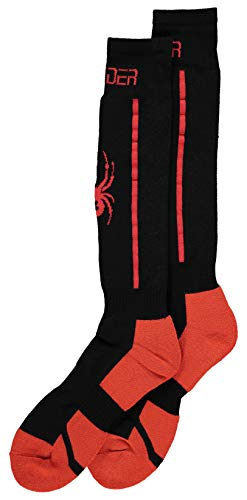 Spyder Herren Sweep Socken, Black, XL von Spyder