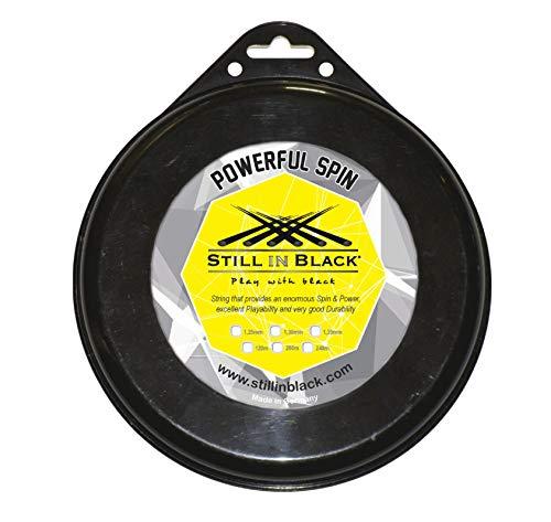 1,30 mm Blau Unisex Still in Black X10 Tennissaite f/ür Erwachsene