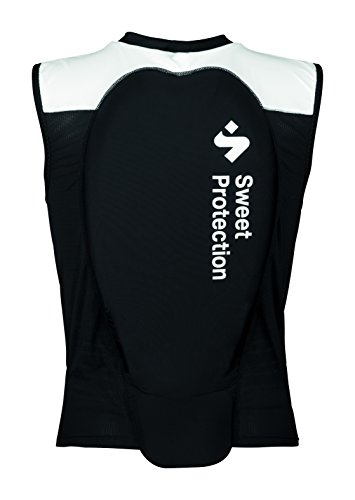 Sweet Protection Damen Back Protector Vest W, True Black/Snow White, M von Sweet Protection