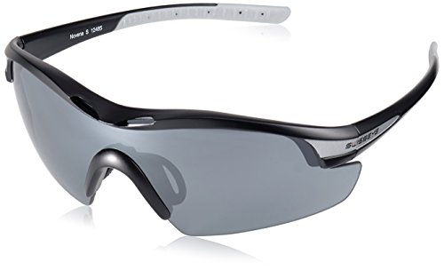 Swiss Eye Sportbrille Novena S RX, Black Matt/Grey, One Size, 12485RX von Swiss Eye
