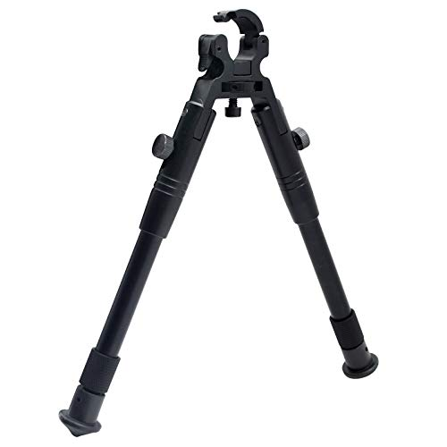 "TRIROCK 8""-10"" Clamps on Barrel Foldable Adjustable Extendable Bipod Shooting Stand with Tube Clip von TRIROCK"