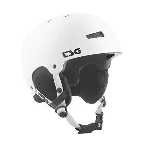 TSG Gravity Solid Color Helm, Satin White, L/XL von TSG