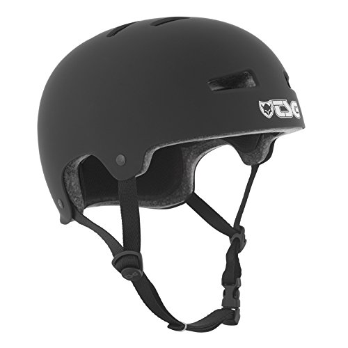 TSG Helm Evolution Solid Color,Schwarz (satin black), S/M, 75046 von TSG