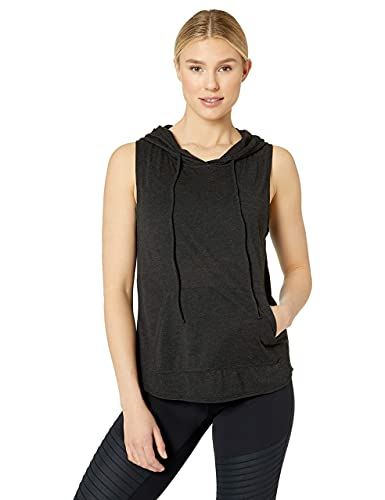 TYR Damen Nora Cropped Hoodie Crop Top, schwarz, Medium von TYR