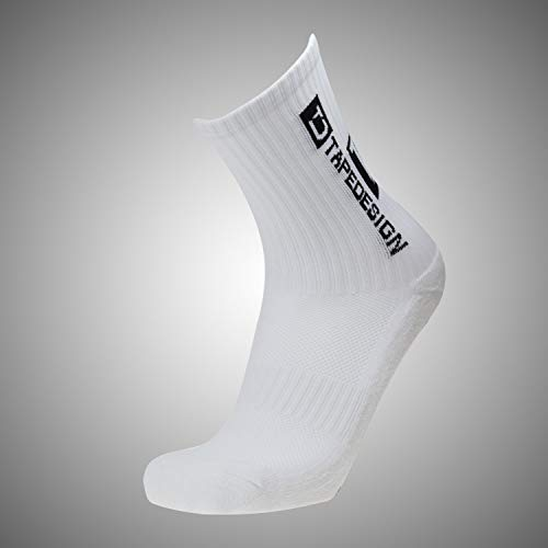 Tapedesign Allround Classic Socken, White, One Size von Tapedesign