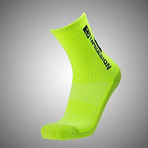 Tapedesign Allround Classic Socken neo Yellow One Size von Tapedesign