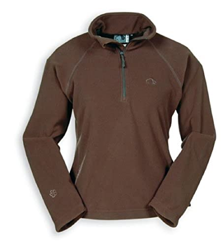 "Tatonka Essential Damen ""Anjou Lady Pullover"" Fleece Pullover, Gre 36, dunkelbraun (dark brown) von Tasmanian Tiger"