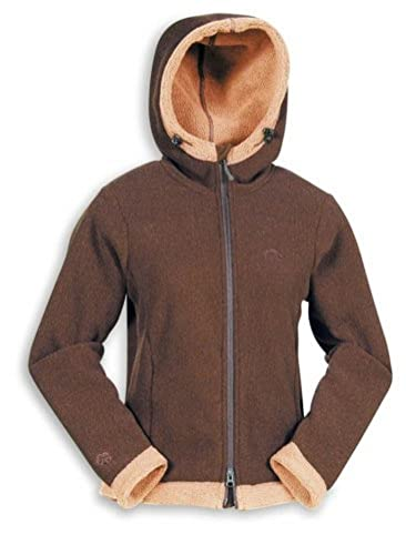 "Tatonka Style Damen ""Irma Lady Jacket"" Fleece Jacke, Gre 44, dark brown/hotorange (d. brown/h. orange) von Tatonka"