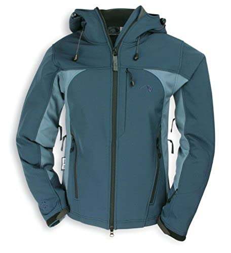 "Tatonka Tech Damen ""Barrie Jacket Women"" Softshell Jacke, Gre 38, dunkelblau/blau von Tatonka"