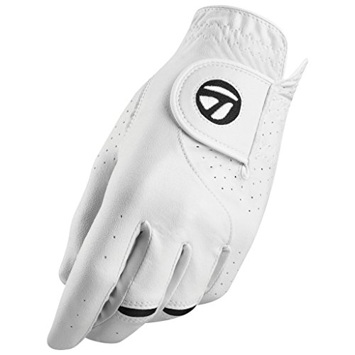 TaylorMade Stratus Tech Glove (White, Right Hand, Large), White(Large, Worn on Right Hand) von TaylorMade