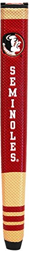 Team Golf NCAA Florida State Seminoles Golf Putter Grip with Removable Gel Top Ball Marker, Durable Wide Grip & Easy to Control von Team Golf