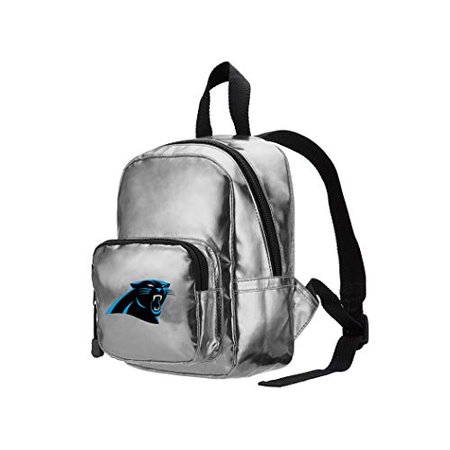 "THE NORTHWEST COMPANY Backpack NFL Carolina Panthers Spotlight Mini-Rucksack, 25,4 x 8,3 x 17,8 cm, Silber, 10"" x 3.25"" x 7"" von THE NORTHWEST COMPANY"