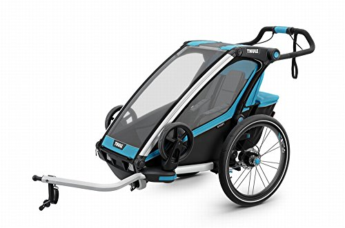 Thule Chariot Sport 1 mit StVZO-Beleuchtung thule Blue/Black von Thule