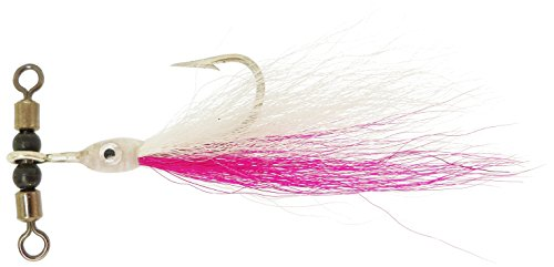 Teaser-T In-Line Rig, weiß/rosa, Large/1 x 2 von Thundermist Lure Company