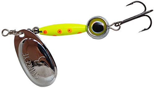 Thundermist Lure Company Eye # 3-s-co-SIL stingeye Spinner Angeln Lure, Chartreuse von Thundermist Lure Company