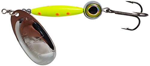 Thundermist Lure Company Eye # 4-s-co-SIL stingeye Spinner Angeln Lure, Chartreuse von Thundermist Lure Company