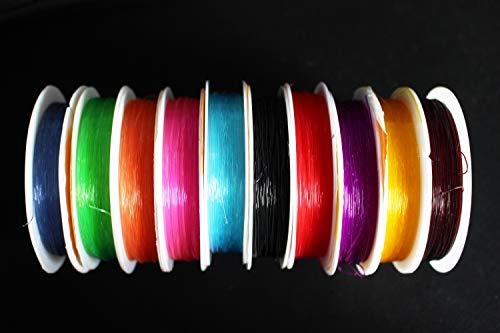 6/m 3/Farben gemischt Flexible Kunststoff-Streifen 0,17/mm d/ünn elastisch PUPAE scuds Garnelen Shell R/ückseite Nymphe Haut Fliegenbinden Materialien