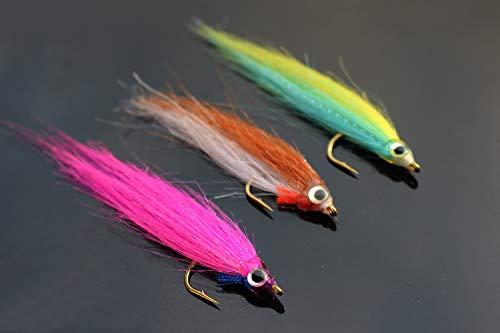 Tigofly 12 St/ück//Lot 10# 12# 14# Tenkara Fliegen Kebari umgekehrt gehackelt Trockenfliegen Lachs Forellenk/öder Fliegen K/öder
