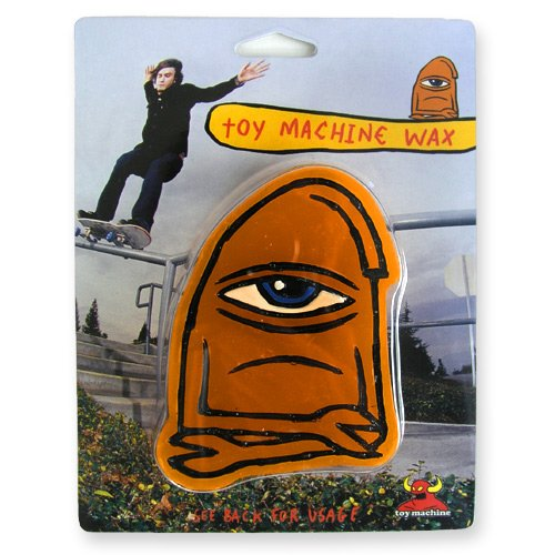 Toy Machine Skateboard Wax - Orange von Toy Machine