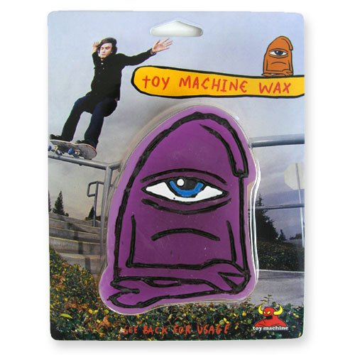 Toy Machine Skateboard Wax - Purple von Toy Machine