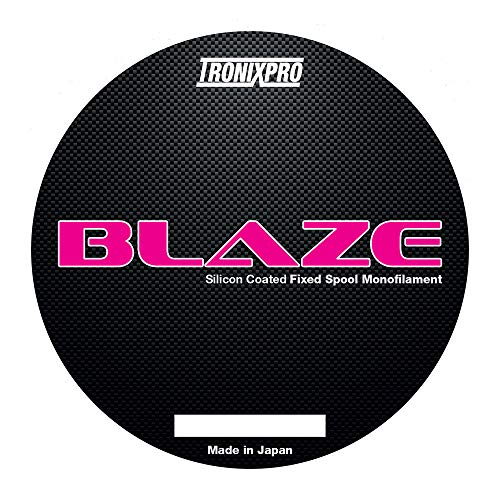 Tronixpro Blaze Fixed Spool Line Angelschnur, Rose, 0.33mm, 17.7lb, 300m von Tronixpro
