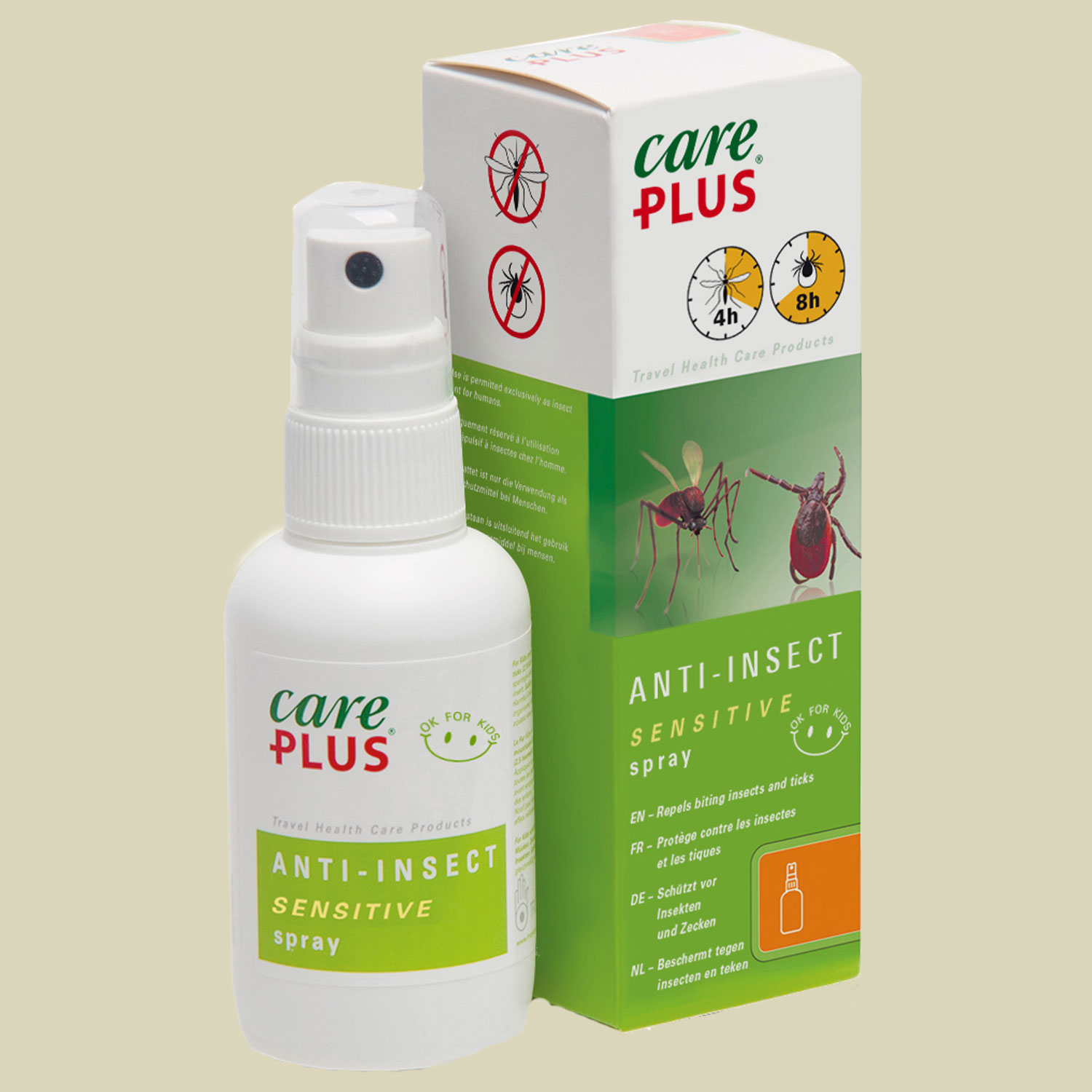 Tropicare Care Plus Anti-Insect Sensitiv Spray 60 ml Insektenspray von Tropicare