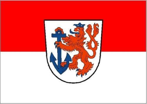 U24 Fahne Flagge Oldenburg Bootsflagge Premiumqualit/ät 20 x 30 cm