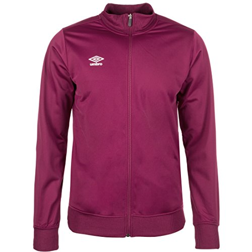 UMBRO Poly Trainingsjacke Herren Bordeaux, L von UMBRO
