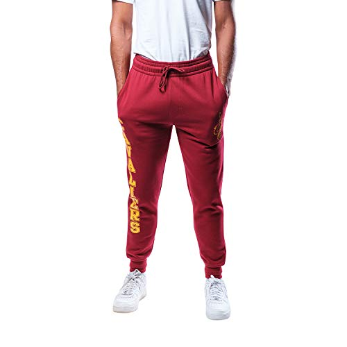 Unk NBA Herren VSF5166M-AM NBA Active Basic French Terry Jogger Hose, Team-Farbe, Weinrot, XXL von Unk NBA