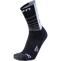 UYN Cycling Support Bikingsocken black/white 45-47 von Uyn