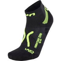 UYN Run Marathon Zero Socken black/yellow fluo 39-41 von UYN