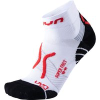 UYN Run Super Fast Socken white/red 45-47 von Uyn