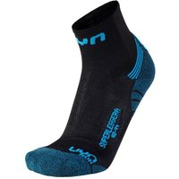 UYN Run Superleggera Socken black/indigo 42-44 von UYN