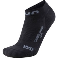 UYN Trainer No Show Socken black/grey 39-41 von UYN