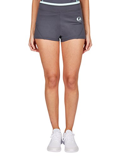 Ultrasport Damen-Funktions-Sport-/Fitness-Pants mit Quick-Dry-Funktion, Grau/Mint, M von Ultrasport