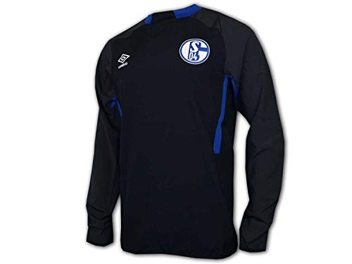 Umbro 2019-2020 Schalke Drill Top (Black) von Umbro