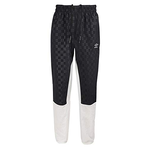 Umbro Herren Sweathose Off The Ball, Herren, Hosen, Off The Ball Sweatpant, Weiß/Schwarz Beauty, Small von Umbro