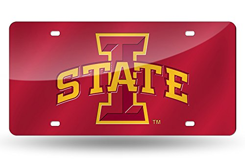 Rico Industries NCAA Laser Inlaid Metal License Plate Tag, Iowa State Cyclones von Rico Industries