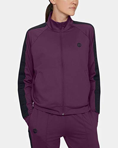Under Armour Damen Oberteil Athlete Recovery Travel Jacket, Violett, L, 1346066-569 von Under Armour