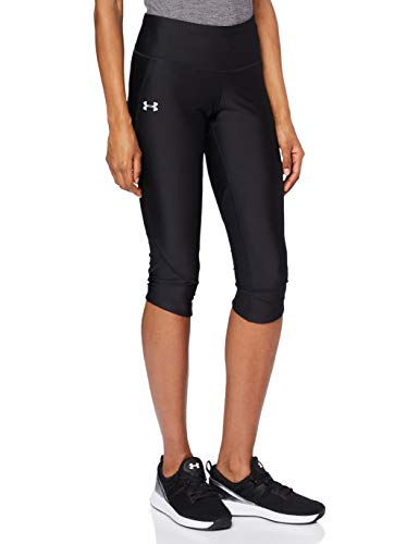 Under Armour Damen Fly Fast atmungsaktive, superleichte Sport Leggings mit Passform Kompression, Schwarz (Black), XS von Under Armour